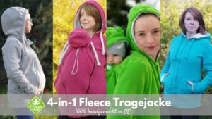 Froggystyle 4in1 Tragejacke
